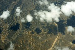 Aerial view of earth Stock Photos