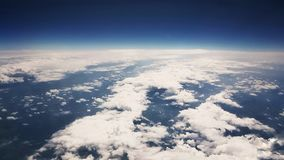 Aerial view - earth. Aerial view above seaside Royalty Free Stock Photos