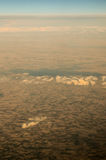 Aerial View of the Earth Royalty Free Stock Photos