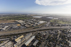 Aerial View of East Ventura California Stock Photos