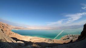 Aerial view of Ein Bokek coast. Royalty Free Stock Images