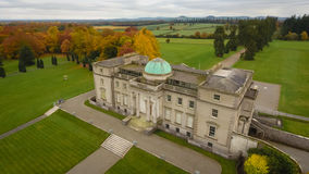 Aerial view. Emo Court House. Portlaoise. Ireland Royalty Free Stock Image
