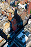 Aerial view from the Empire State Royalty Free Stock Photo
