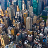 Aerial view from the Empire State Stock Images