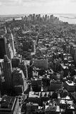 Aerial view from the Empire State Royalty Free Stock Images