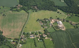Aerial view of Essex Stock Photo