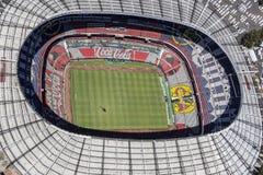 Aerial view of estadio azteca football stadium Stock Photos