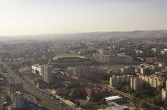 Aerial view of Estadio Jose Alvalade stadium Royalty Free Stock Photography