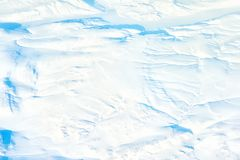 Extreme artic terrain. Aerial view of extreme artic terrain royalty free stock photos