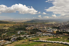 Aerial view of Fes, Morocco Royalty Free Stock Photo