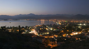 Aerial view of Fethiye Royalty Free Stock Photography