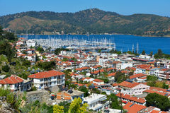 Aerial view of Fethiye, Turkey Stock Images