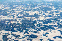 Aerial view of Finland in winter near Helsinki. Aerial view of Finland in winter, near Helsinki stock photos