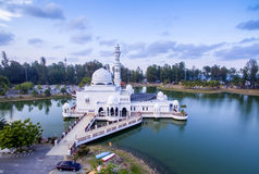 Aerial view floating mosque Stock Image