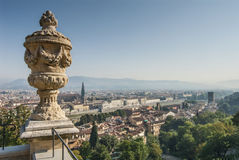 Aerial View of Florence Royalty Free Stock Images