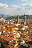 Aerial view on Florence, Italy. Royalty Free Stock Photography