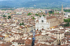 Aerial View of Florence, Italy Stock Photos