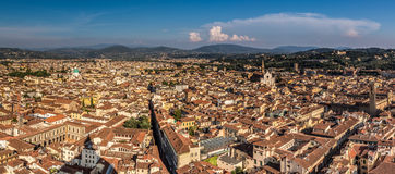 Aerial view of Florence Stock Image