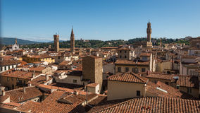 Aerial view of |Florence Royalty Free Stock Images
