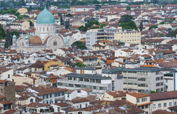 Aerial view of Florence, Tuscany, Italy Royalty Free Stock Photo