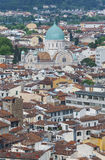 Aerial view of Florence, Tuscany, Italy stock photos