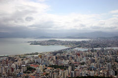 Aerial view of Florianopolis-SC Brazil Stock Images