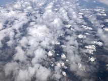 Aerial view of Florida royalty free stock photography