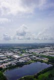 Aerial view of florida community Royalty Free Stock Photo