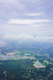 Aerial view of florida community Stock Photography