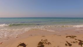 Aerial View From Flying Drone on Tarifa Area stock video