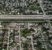 Aerial view of Fort Lauderdale, Florida. Royalty Free Stock Photo
