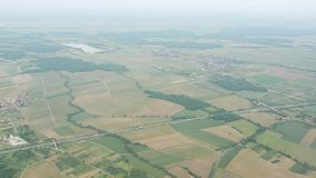 Aerial view of France Royalty Free Stock Photos