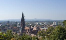 Aerial view of Freiburg im Breisgau Royalty Free Stock Photo