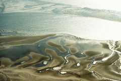 Free Aerial View From The Schleswig-Holstein Wadden Sea National Park Stock Image - 44722571
