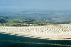Free Aerial View From The Schleswig-Holstein Wadden Sea National Park Stock Photos - 44722803