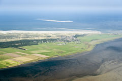 Free Aerial View From The Schleswig-Holstein Wadden Sea National Park Royalty Free Stock Photos - 44722938