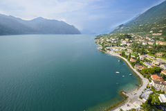 Aerial View of Garda Lake Stock Photos