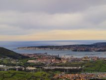 Aerial view of Getxo Royalty Free Stock Photo