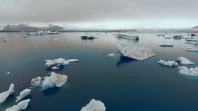 Free AERIAL VIEW GLACIER ICEBERGS Royalty Free Stock Photo - 59016375