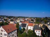 Aerial view of goessnitz altenburg thuringia town Stock Photo