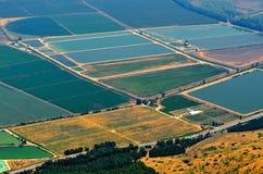 Aerial View of Golan Royalty Free Stock Photos