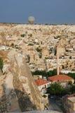 Aerial view of Goreme, Turkey Royalty Free Stock Photos
