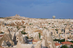 Aerial view of Goreme, Turkey Stock Images