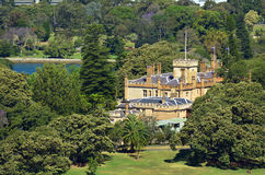 Aerial view of The Government House in Sydney Australia Stock Photography