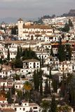 Aerial view of Granada, Spain Stock Photography