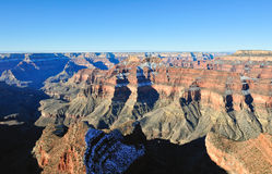Aerial view of Grand Canyon Stock Photography