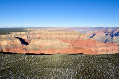 Aerial view of Grand Canyon Stock Images