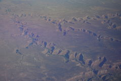 Aerial View of the Grand Canyon in Arizona Royalty Free Stock Images