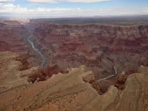 Aerial view grand canyon Royalty Free Stock Photos