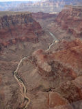 Aerial view grand canyon Stock Photo